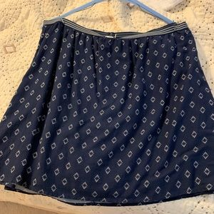 Old Navy Blue and white skirt.